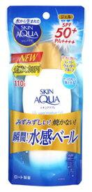 ロート製薬 スキンアクア スーパーモイスチャージェル SPF50+ PA++++ (110g) 日焼け止め