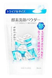 カネボウ スイサイ ビューティクリア パウダーウォッシュN トライアル (0.4g×15個) 洗顔パウダー suisai