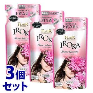 【特売】 《セット販売》 花王 フレア フレグランス イロカ シアーブロッサムの香り つめかえ用 (480mL)×3個セット 詰め替え用 柔軟剤 IROKA
