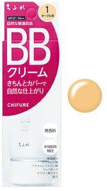 ちふれ化粧品 BB クリーム 1 オークル系 SPF27 PA++ (50g) CHIFURE ファンデーション