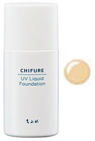 ちふれ化粧品 UV リキッド ファンデーション 34 オークル系 SPF35 PA+++ (30mL) やや濃い目 CHIFURE