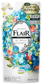 【特売】 花王 フレア フレグランス フラワー&ハーモニー つめかえ用 (400mL) 詰め替え用 柔軟剤