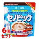 《セット販売》 ロート製薬 セノビック ミルクココア味 (112g)×6個セット 栄養機能食品 カルシウム ビタミンD 鉄 …
