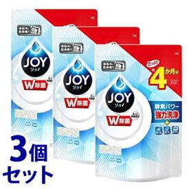 【特売】 《セット販売》 P&G 食洗機用ジョイ ダブル除菌 つめかえ用 (490g)×3個セット 詰め替え用 食洗機用洗剤 【P&G】