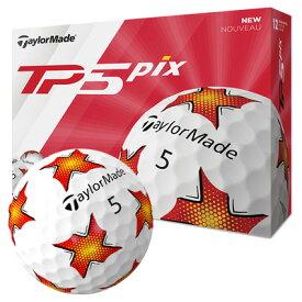 《あす楽》テーラーメイド 2019 TP5 ボール (PIXデザイン) [1ダース]