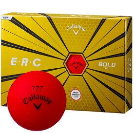 【最大5,000円OFFクーポン!お買い物マラソン】《あす楽》キャロウェイ 2019 ERC ボール (ボルドーレッド) 【1ダース】