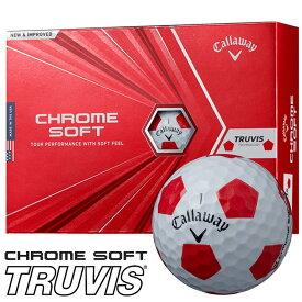 《あす楽》キャロウェイ 2020 クロムソフト TRUVIS(トゥルービス) ボール【1ダース】