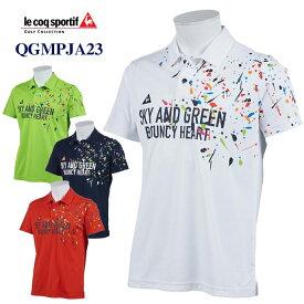 【ポイント最大10倍!お買い物マラソン】《あす楽》【お買い得品】ルコック 半袖ポロシャツ QGMPJA23