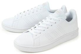 【セール】adidas(アディダス) ADVANCOURT BASE(アドバンコート ベース) EE7692 ホワイト/ホワイト【交換・返品・ラッピング対象外】