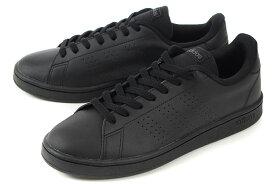 【セール】adidas(アディダス) ADVANCOURT BASE(アドバンコート ベース) EE7693 ブラック/ブラック【交換・返品・ラッピング対象外】