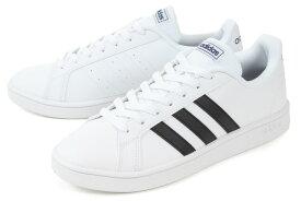 【セール】adidas(アディダス) GRANDCOURT BASE(グランドコート ベース) EE7904 ホワイト/ブラック【交換・返品・ラッピング対象外】