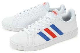 【SALE!!】 adidas(アディダス) GRANDCOURT BASE(グランドコート ベース) EE7901 ホワイト/ブルー/レッド