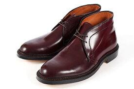 大きいサイズ 靴【28cm】Alden(オールデン) CHUKKA BOOTS CORDOVAN(チャッカブーツ コードバン) 1339 D バーガンディ ビッグサイズ