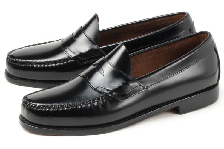 大きいサイズ 靴 G.H.Bass(G.H.バス) LOGAN(ローガン ペニーローファー) ブラック weejuns ビッグサイズ
