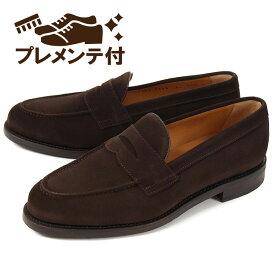 【新着】 【プレメンテナンスサービス付】大きいサイズ 【28cm 29cm】Berwick(バーウィック) メンズ カジュアルシューズ 靴 ローファー 9628S ダークブラウン ビッグサイズ スエード