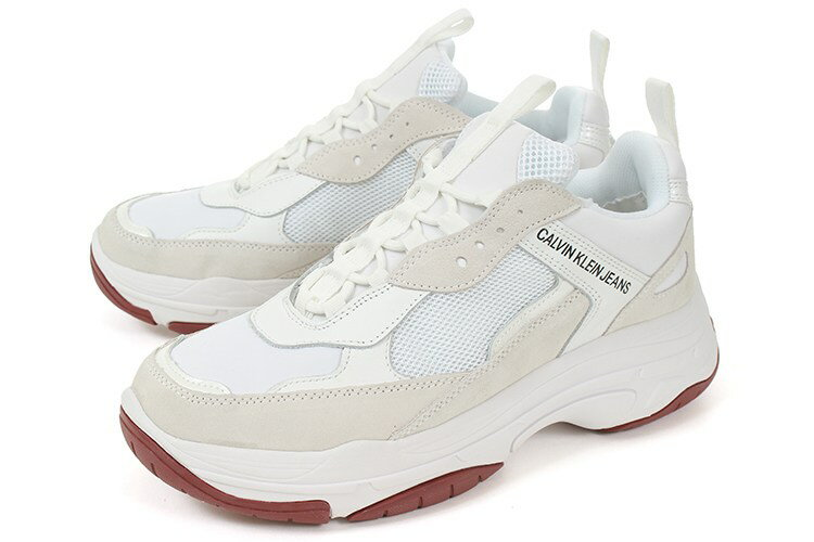 Calvin Klein Jeans(カルバンクライン ジーンズ) メンズ ダッドスニーカー MARVIN 34S1770-WHT ホワイト