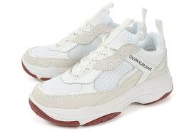 Calvin Klein Jeans(カルバンクライン ジーンズ) メンズ ダッドスニーカー MARVIN 34S1770-WHT ホワイト 白 しろ