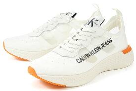【秋新着】Calvin Klein Jeans(カルバンクライン ジーンズ) ALBAN SEMI TRANSPARENT NYLON 34S0583-BRW ホワイト