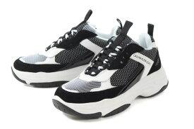 Calvin Klein Jeans(カルバンクライン ジーンズ) MAYA SUEDE 34R0823-WBA ホワイト/ブラック