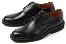 大きいサイズ 【27.5cm 28cm 29cm】Kenford(ケンフォード) メンズ 靴 ビジネスシューズ プレーントゥ K641 AAJEB ブラック ビッグサイズ