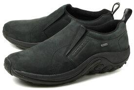 大きい MERRELL(メレル) JUNGLE MOC GORE-TEX(ジャングルモック ゴアテックス) J42301 ブラック アウトドア ウォーキングシューズ スリッポン スニーカー ビッグサイズ 靴 【29cm 30cm】