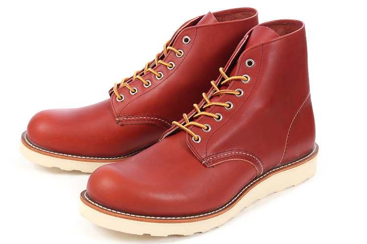 【エントリーでポイント5倍】大きいサイズ 靴 Red Wing(レッドウィング) CLASSIC WORK 6inch ROUND TOE(クラシックワーク 6インチ ラウンドトゥ) 8166 オロラセット ビッグサイズ