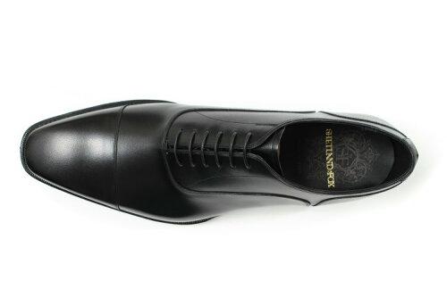 SHETLANDFOX(シェットランドフォックス)アバディーンストレートチップ3055SFブラック