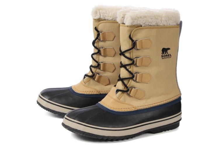 【エントリーでポイント5倍】大きいサイズ 靴【29cm 30cm】SOREL(ソレル) 1964 PAC NYLON(1964 パックナイロン) NM1440 373 カリー/ブラック ビッグサイズ