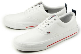【SALE】 トミーヒルフィガー TOMMY JEANS(トミージーンズ) CLASSIC LOW SNEAKER(クラシック ロー ) EM00405 YBS ホワイト