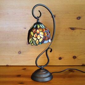 ステンドグラスランプ吊り型1アーム大粒の葡萄🍇12×h41 【ぶどう/照明・スタンド】