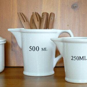 DULTON  陶器メジャーリングカップ 500ml 【ダルトン/電子レンジ・ディッシュウオッシャー・オーブン使用可】