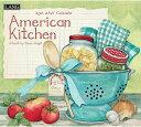2021年 LANG社(ラング)カレンダー アメリカン キッチン (American Kitchen)