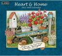 2021年 LANG社(ラング)カレンダー ハート アンド ホーム(Heart and home)