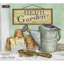 【送料無料】【一緒に買って送料無料】2019年 LANG社(ラング)カレンダー ハーブガーデン(Herb Garden)