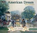 2018年 LANG社(ラング)カレンダー アメリカンドリーム(American Dream)