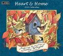 2018年 LANG社(ラング)カレンダー ハート アンド ホーム(Heart and home)