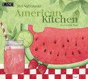 2018年 LANG社(ラング)カレンダー アメリカン キッチン (American Kitchen)