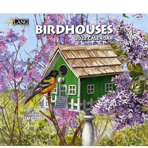 2022年 LANG社(ラング)カレンダー バードハウス (Birdhouses)