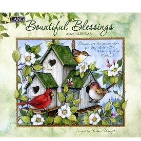 2022年 LANG社(ラング)カレンダー  バウンティフルブレッシング (Bountiful Blessings)