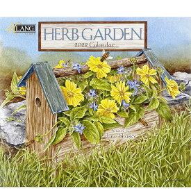 2022年 LANG社(ラング)カレンダー ハーブガーデン(Herb Garden)