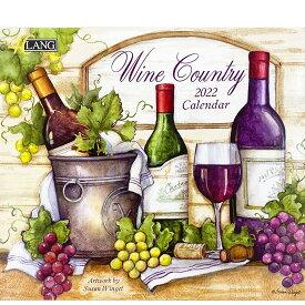 2022年 LANG社(ラング)カレンダー ワインカントリー(Wine Country)