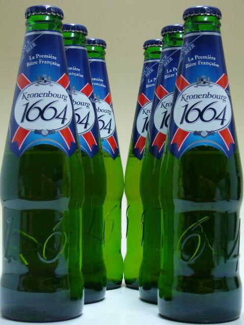 クローネンブルグ1664 (ピルスナー) 330ml×6本ビールセット 【ビール】【ビア】【BEER】【フランス】