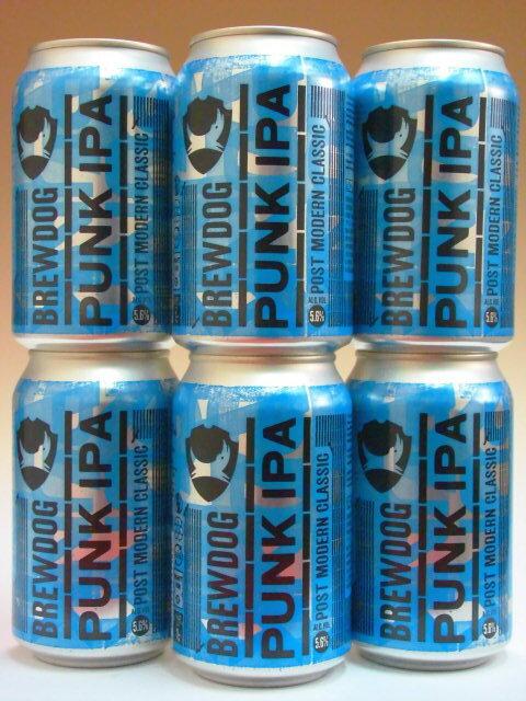 ブリュードッグ・パンクIPA 缶 5.6% 330ml×6本組 【ビール】【ビア】【BEER】【BrewDog】