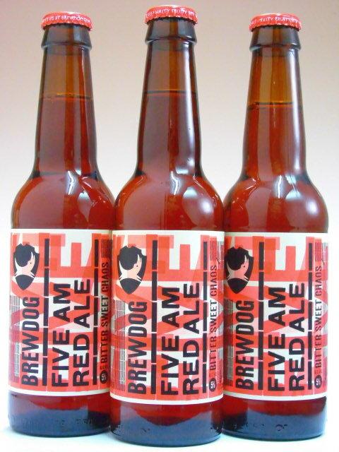 ブリュードッグ 5AMセイント レッドエール 5% 330ml×3本組 【クラフトビール】【スコットランド】【BrewDog】