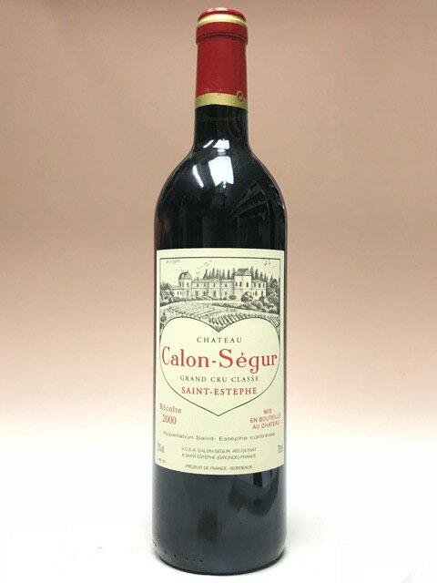 シャトー・カロン・セギュール [2000] 750ml 【フランス】【赤ワイン】【12月新商品】