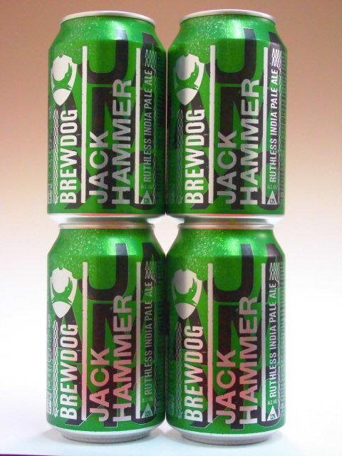 ブリュードッグ ジャックハマーIPA 缶 7.2% 330ml×4本組 【クラフトビール】【BrewDog】【スコットランド】