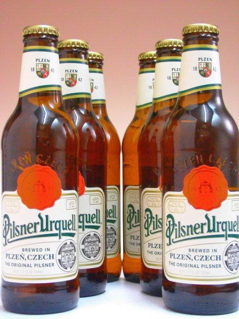 ピルスナーウルケル 330ml×6本組 【ビール】【チェコ】