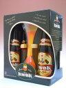 パウエルクワック瓶 (ストロングアンバーエール) 8.4度 330ml×4本組 【専用グラス1個付】【ビール】【ビア】【BEER】【ベルギー】