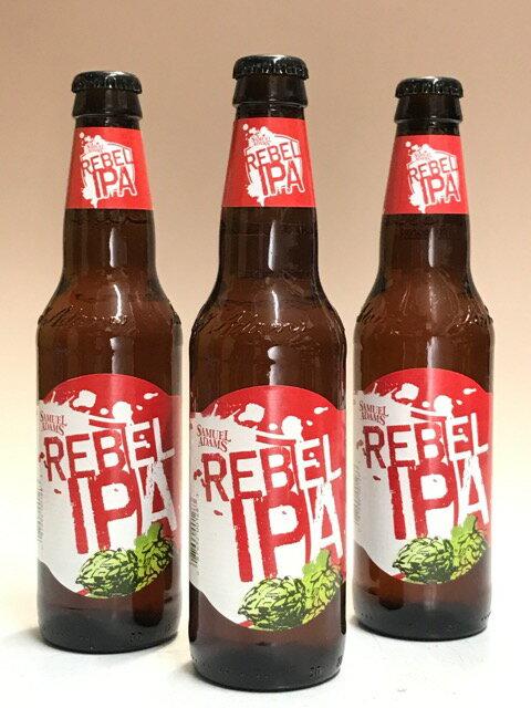 サミエルアダムス・リーベルIPA(赤)(ウェストコーストIPA) 6.5度 355ml×3本組 【ビール】【アメリカ】【限定品】