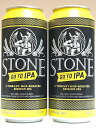 【缶】ストーンGo To IPA 缶 4.5% 473ml×2本組 【要冷蔵商品】【クラフトビール】【アメリカ】【Stone】【3月新商品】